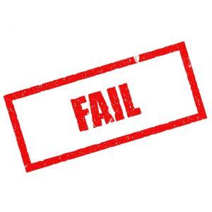 三つの失敗事例