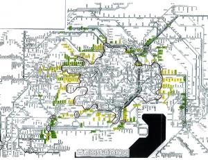 優良物件エリアの地図