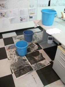1階事務所・漏水被害
