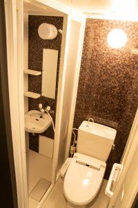 LC西公園205のリノベーション後のトイレ写真